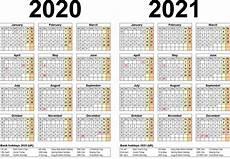 Vertex42 Calendar 2020 2019 And 2020 Calendar Printable With Explanation