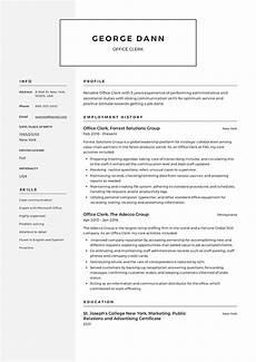 Resume Office Full Guide Office Clerk Resume 12 Samples Pdf 2019