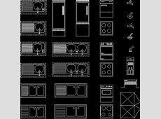 Kitchen Applications Blocks02 DWG Block for AutoCAD ? Designs CAD