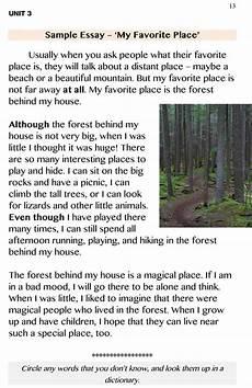 My Favourite Place Essay Esl Beginner Writing Sample Essay Quot My Favorite Place Quot