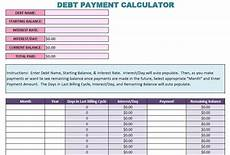 Debt Snowball Calculator New Amp Improved Debt Snowball Calculator