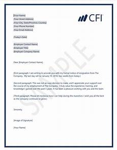 Templates For Resignation Clean Resignation Letter Template Cfi Marketplace