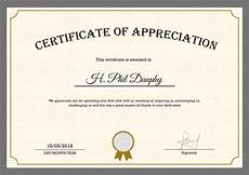 Token Of Appreciation Certificate Sample Company Appreciation Certificate Design Template In