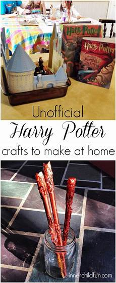 harry potter crafts and play date inner child