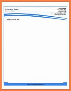 Ms Office Letterhead Template 6 Microsoft Word Letterhead Templates Company Letterhead