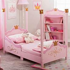 kidkraft princess toddler bed 76121 pink toddler bed