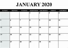 Calendar Forms 2020 Blank Wp Form 2020 Calendar Template Printable