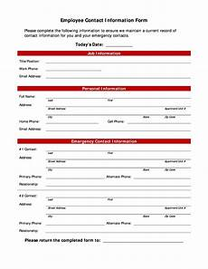 Phone Contact List Template 40 Phone Amp Email Contact List Templates Word Excel ᐅ