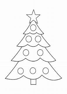 Malvorlagen Weihnachten Tannenbaum Tree Coloring Pages For Childrens Printable For Free