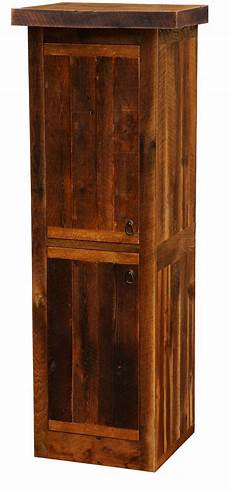 barnwood left hinged 24 quot linen cabinet from fireside lodge