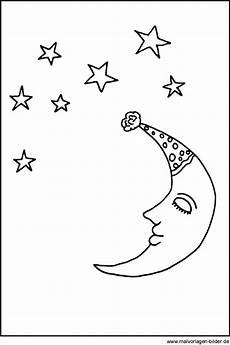 Malvorlagen Mond Und Sterne Mond Und Sterne Window Color Bilder