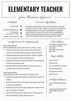 Resume Reading Software Resume Template For Teaching Beautiful Elementary Teacher