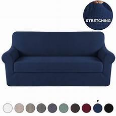 Navy Blue Sofa Slipcover 3d Image by Turquoize 2 Cozy Jacquard Spandex Sofa Stretch