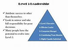 Level 5 Leadership Level 5 Leadership 2