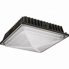 Square Canopy Light Lithonia Lighting Bronze Outdoor Integrated Led Square