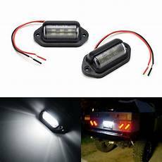 Trailer License Plate Light Led Lamps For Truck Suv Trailer Van As License Plate Step