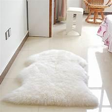 meigar soft sheepskin fluffy skin faux fur rug best