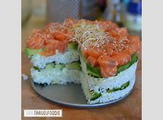 New recipe: Sushi Pie!   Anne Travel Foodie