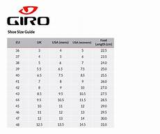 Giro Empire Size Chart Giro Factor Techlace Road Shoes Cycle Tribe