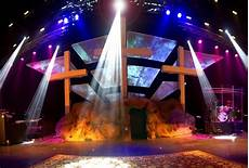 Tech Lighting Little Rock Easter Church Stage Ideas In Church Production Church