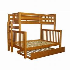 bedz king mission bunk bed with trundle