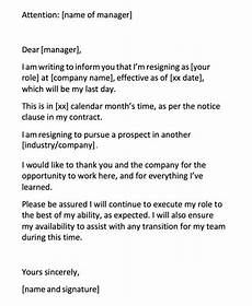 Templates For Resignation How To Write A Resignation Letter And Not Burn Any Bridges