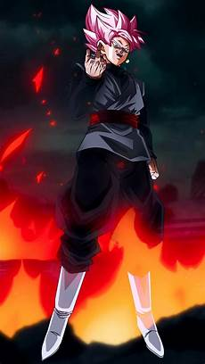 iphone wallpaper black goku ssr goku black w fu mobile wallpaper 1080p by