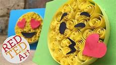 Easy Emoji Art Paper Quilling For Beginners Emoji Diy Easy Crafts