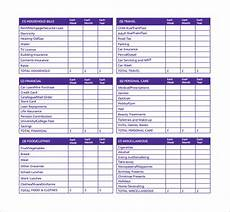 Making A Budget Planner 10 Monthly Budget Planner Templates To Download Sample