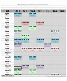 Work Shift Calendar Template 6 Monthly Shift Schedule Templates Free Word Pdf