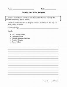 Essay Worksheets Essay Writing Practice