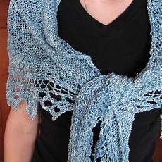 knit free simple knit triangle shawl free pattern jistdesigns