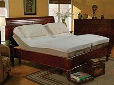 size adjustable bed with and wireless