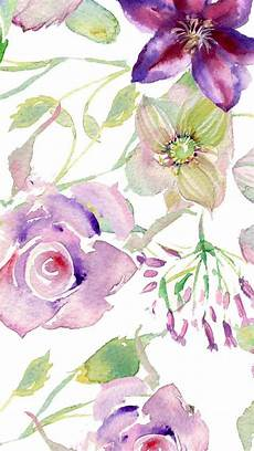 flower wallpaper watercolor watercolor wallpaper and lock screen downloadsmomental designs