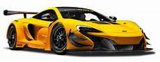 mclaren 650s gt3 yellow race car png image purepng