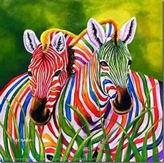 Colorful Zebra Design Colorful Zebra Pictures Funny Wallpaper
