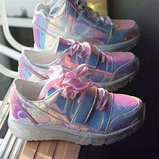 Holographic Light Up Shoes Yru Yru Holographic Aire Light Up Sneakers Trainers 8m
