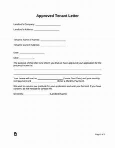 Credit Application Approval Letter Free Rental Application Approval Letter Pdf Word