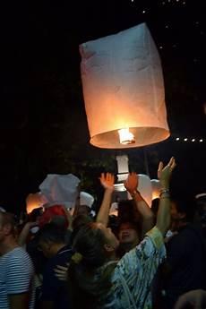 Lanterns And Lights At Chiang Mai Road Yi Peng Chiang Mai Sky Lantern Festival Enlightenment