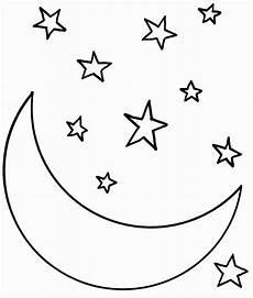Sterne Malvorlagen Lyrics Sterne Malvorlagen Zum Ausdrucken Moon Coloring Pages
