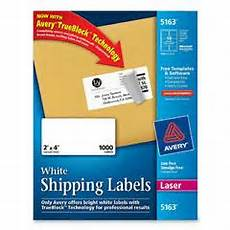 Avery Shipping Labels 5163 Avery 5163 2 X 4 Quot White Shipping Labels Nordisco Com