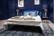 Blue Bedrooms Decorating Ideas Top 50 Best Navy Blue Bedroom Design Ideas Calming Wall
