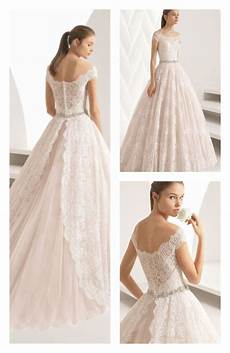 princess style beaded lace wedding dress with the