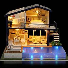 cuteroom doll house furniture diy 3d wooden time apartment