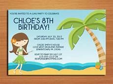 Beach Party Invitation Wording Luau Birthday Party Invitation Wording Bagvania