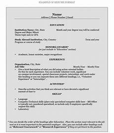 How To Write A Best Resume How To Write A Resume Pomona College In Claremont