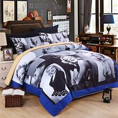microfiber 3d painting printing bedding sets marilyn