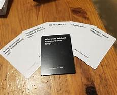Example Of Cards Against Humanity Someone Created A New Cards Against Humanity Version And