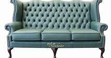 High Back Sofa Chair 3d Image by Chesterfield 3 Seater High Back Wing Sofa Jade