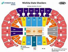 Big E Arena Seating Chart Seating Charts Events Amp Tickets Intrust Bank Arena